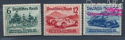 German Empire 686-688 (complete issue) with hinge 1939 IAA (8532251