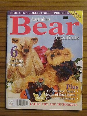 Australian Bear Creations - Volume 12 No.1 Teddies Fish Sea Animals 2006