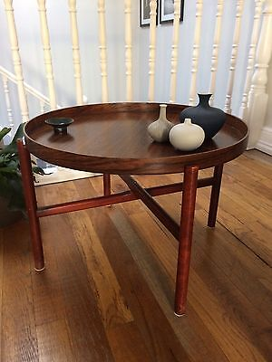 Exceptionally Rare Mid Century Danish Rosewood Side table