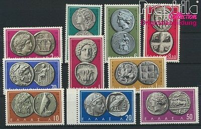 Greece 696-705 unmounted mint / never hinged 1959 ancient greek Coins (8882671