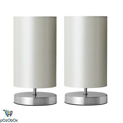 Set of 2 Anko Touch Lamp Table Desk Bedside Light Side Home Decor Nightstand