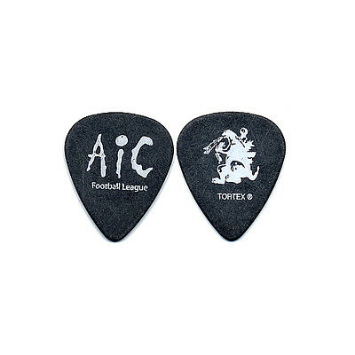 Alice in Chains authentic 2007 tour Guitar Pick AIC football league Godzilla