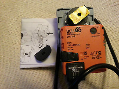 Belimo LR230A valve actuator ac 230v 5nm and switch