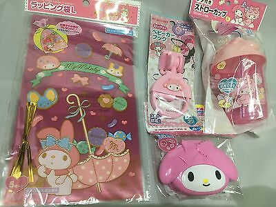 My Melody Baby Goods Set child - Hook for Stoller Straw Cup Case Bag  Kawaii