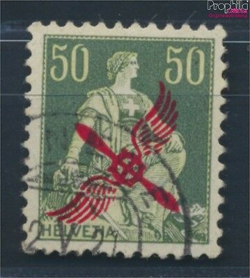 Switzerland 145 (complete issue) fine used / cancelled 1919 Airmail (8618630