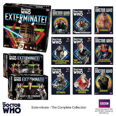 Doctor Who - Into the Time Vortex - Full Miniatures Game - Expansions BBC Dr Who