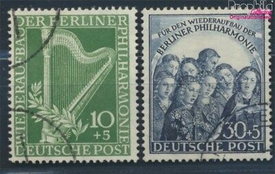 Berlin (West) 72-73 fine used / cancelled 1950 Philharmonic (8830869