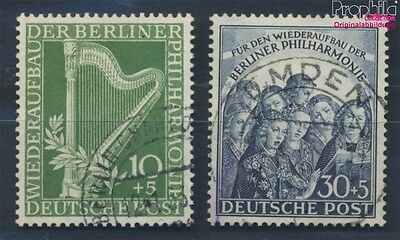 Berlin (West) 72-73 fine used / cancelled 1950 Philharmonic (8717132