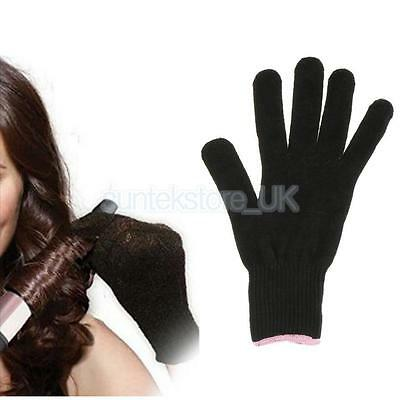 Heat Resistant Glove for Flat Straightener Curling Irons Safety Hair Styling