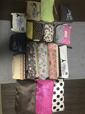 Bulk lot of coin purses, pencil cases and cosmetic bags BRAND NEW
