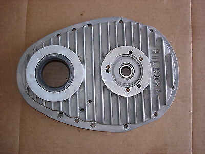 Vintage Hilborn Timing Chain Cover Pdc-4-1 Magnesium Aluminum Enderle Crower