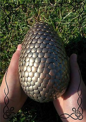 New Golden Green Dragon Egg Harry Potter Game Of Thrones Cosplay Warcraft Quest