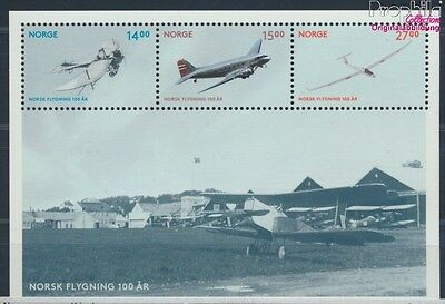 Norway Block43 unmounted mint / never hinged 2012 Aviation (8688173