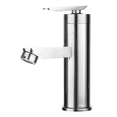 Chrome Waterfall Bathroom Basin Faucet Single Handle Sink Cold&Hot Mixer Tap