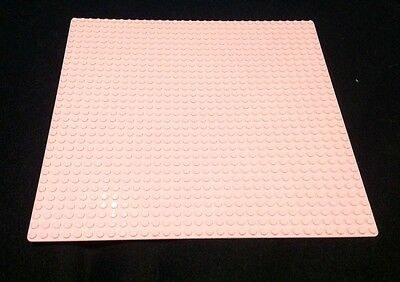 Building Board - Pink Base Plate -32X32 Studs Baseplate Lego Compatible