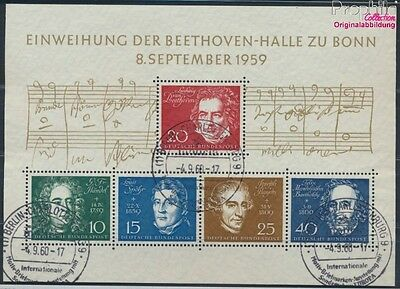 FR of Germany block2 used 1959 Beethoven (8609969