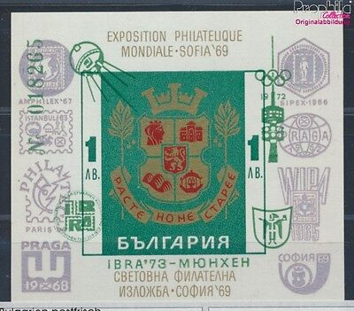 Bulgaria Block40 MNH 1973 BriefmarkenausstellungIBRA´73 (8688204