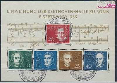 FR of Germany block2 used 1959 Beethoven (8609970