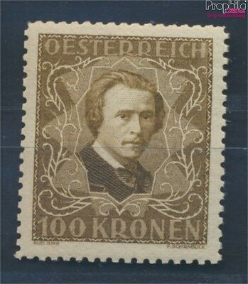 Austria 424B unmounted mint / never hinged 1922 Musicians (8717365