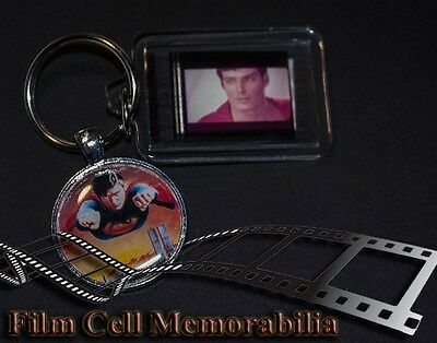 Superman 2 - 35mm Film Cell Key Ring and Pendant Keyfob Gift