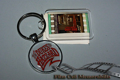 The Dukes of Hazzard - 35mm Film Cell Movie KeyRing and Pendant Keyfob Gift