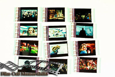 Charlie and the Chocolate -12pack - 35mm Film Cell Lot movie memorabilia Aus
