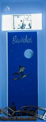 Film Cell Bookmark 35mm - Bewitched Movie Memorabilia Gift RARE