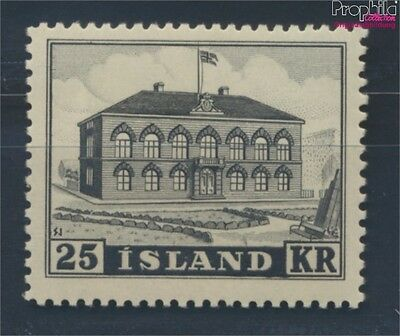 Iceland 277 unmounted mint / never hinged 1952 clear brands (8731783