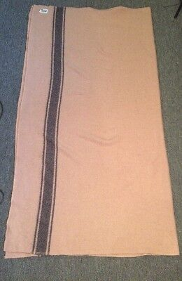 Old Ayers Wool Blanket Vintage Homestead By Ayers Of Lachute Canada Blanket Pink