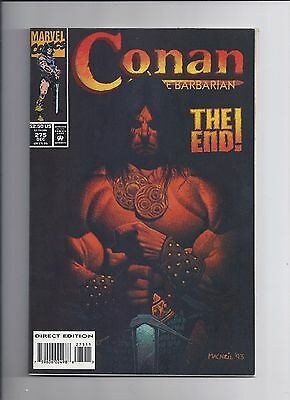 Conan The Barbarian # 275 NM- Final Issue HTF Hard to Find 1993 Key