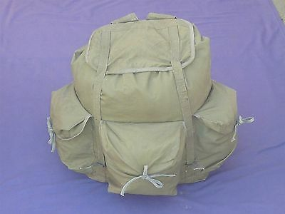 Rare North Vietnam Army Strong Canvas Rucksack