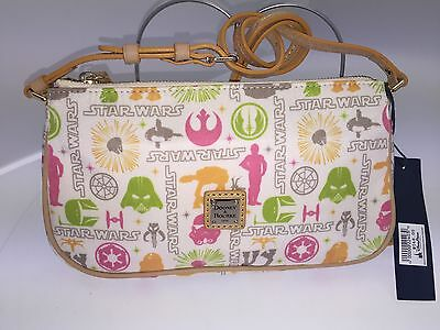 Dooney And Bourke Disney Star Wars Fabric Leather Cross Body Bag New And Lovley