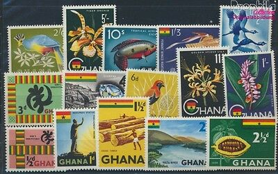 Ghana 48-62 unmounted mint / never hinged 1959 Symbols (8777082
