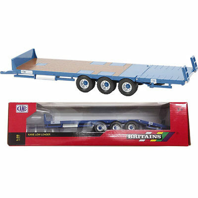 BRITAINS Kane Low Loader Trailer 1:32 Diecast Farm Model 43006