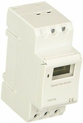 THC15A Digital LCD Weekly Programmable Timer Time Relay Switch 24VDC