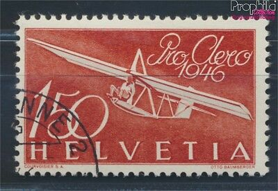 Switzerland 470 fine used / cancelled 1946 Pro Aero (8618609