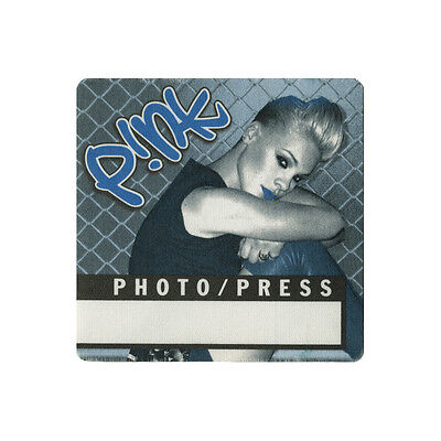 Pink Blue Photo Backstage Pass 2000 No Strings Attached Tour (N'Sync)