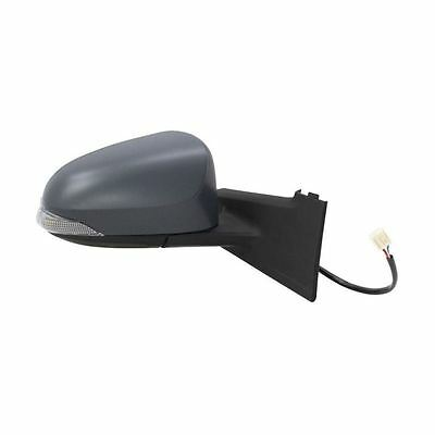 For Toyota Yaris 2011-2017 Electric Wing Door Mirror Primed Cover Drivers Side