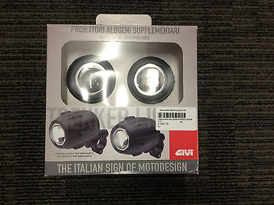 Givi S310 NEW  Trekker Halogen spot fog lights lamps motorcycle