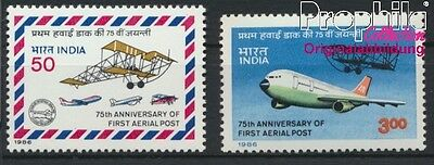 India 1053-1054 unmounted mint / never hinged 1986 Airmail (8882740