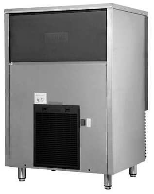 Jet Ice Ice Machine 202 lb., Air Cooled Stainless Steel/Black, SCI-090