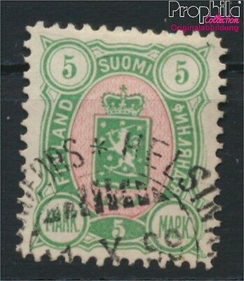 Finland 33A fine used / cancelled 1889 Crest (8883186