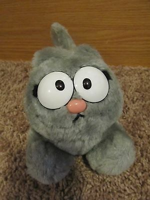 Garfield Nermal Gray Cat Vintage 1983 Plush Toy *exc Cond