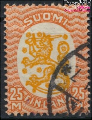 Finland 137W B fine used / cancelled 1927 clear brands Crest (8883176