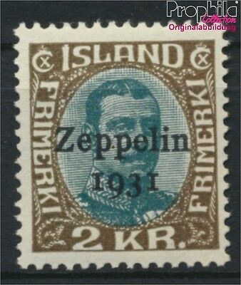 Iceland 149 unmounted mint / never hinged 1931 Count Zeppelin (8883142