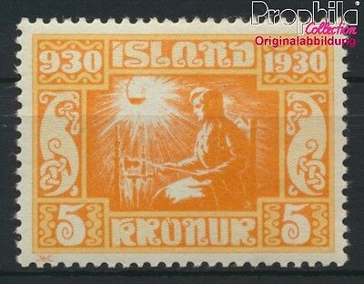 Iceland 138 unmounted mint / never hinged 1930 millennium (8883145