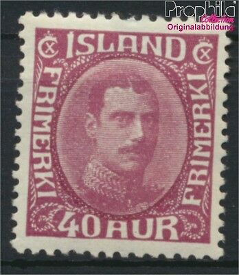 Iceland 164 with hinge 1931 Christian (8883116