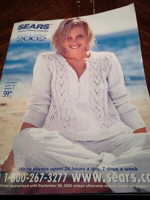 2002 Sears Spring And Summer Catalog