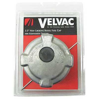 VELVAC 600186 Fuel Cap, Vented, Nonlock, 5.5 per In Thrd