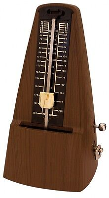 TGI Pyramid Metronome With Wood Effect Finish